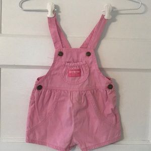 Vintage Oshkosh overalls short bubble USA union 3t